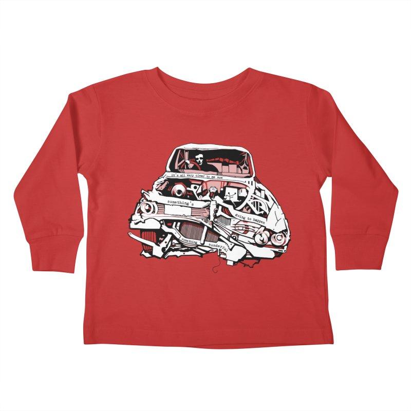 somethingwonderful Kids Toddler Longsleeve T-Shirt by toniefer's Artist Shop