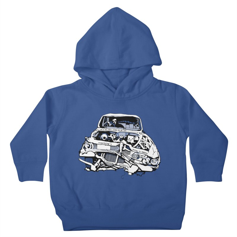 somethingwonderful Kids Toddler Pullover Hoody by toniefer's Artist Shop