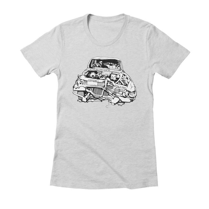 somethingwonderful Women's Fitted T-Shirt by toniefer's Artist Shop