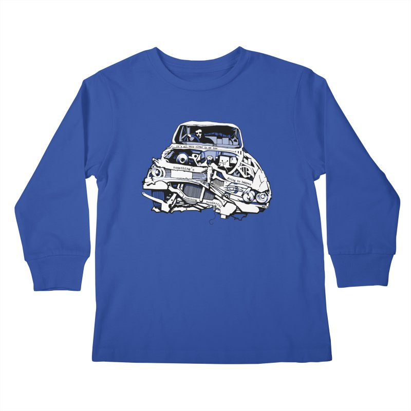 somethingwonderful Kids Longsleeve T-Shirt by toniefer's Artist Shop