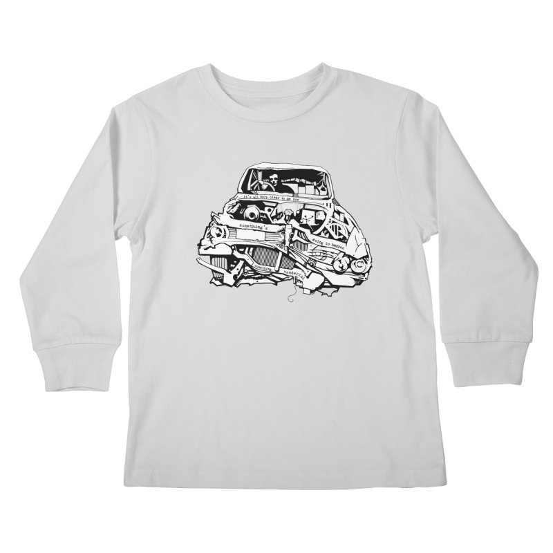 somethingwonderful Kids Longsleeve T-Shirt by toniefer's Artist Shop