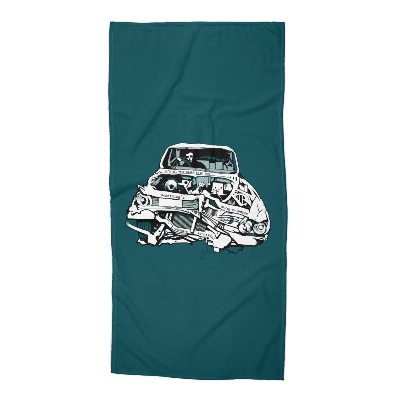 somethingwonderful Accessories Beach Towel by toniefer's Artist Shop