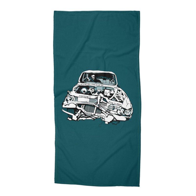 somethingwonderful Accessories Beach Towel by toniefer's Artist Shop