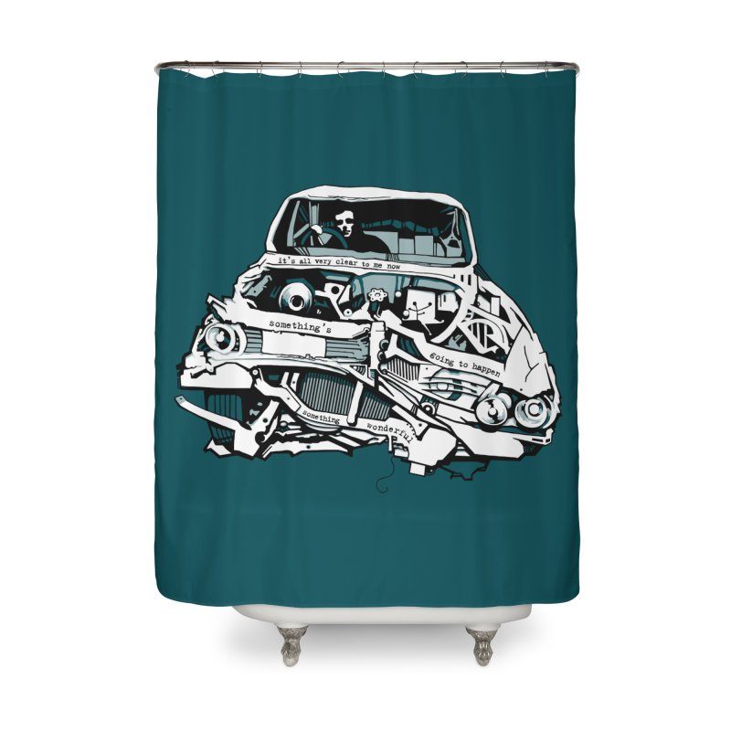 somethingwonderful Home Shower Curtain by toniefer's Artist Shop