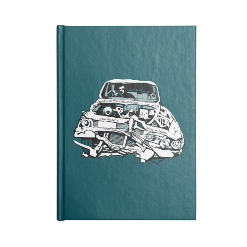 somethingwonderful Accessories Notebook by toniefer's Artist Shop