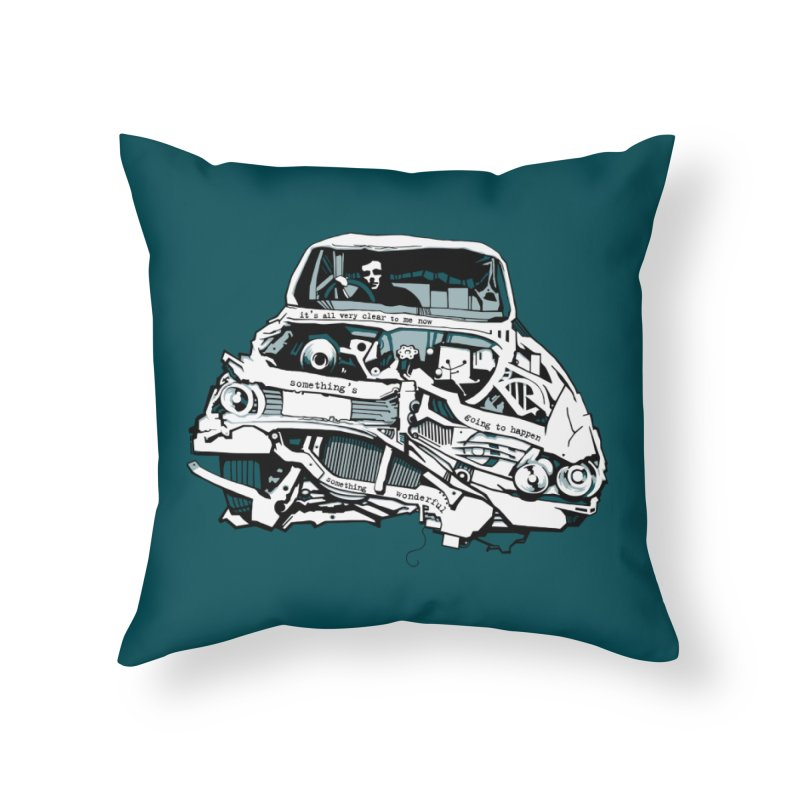 somethingwonderful Home Throw Pillow by toniefer's Artist Shop
