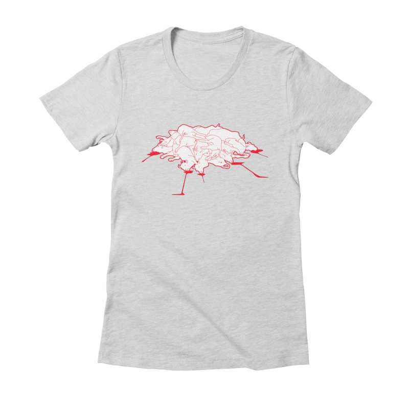 Extragenetica Women's Fitted T-Shirt by toniefer's Artist Shop