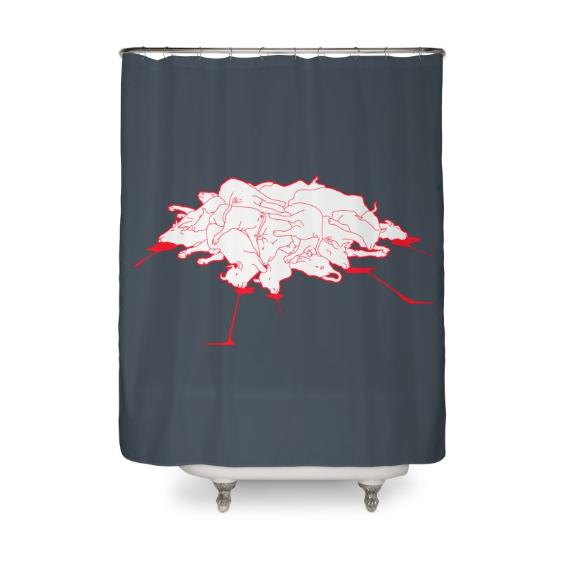 Extragenetica Home Shower Curtain by toniefer's Artist Shop