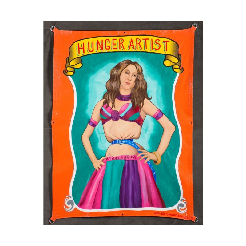 Hunger Artist by tonilee's Artist Shop