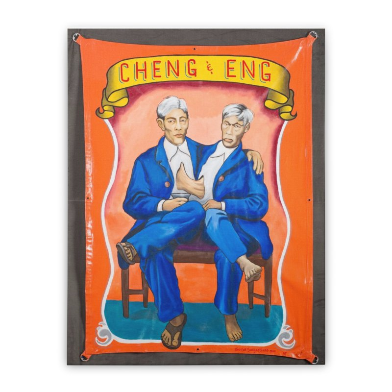 Cheng & Eng Home Stretched Canvas by tonilee's Artist Shop