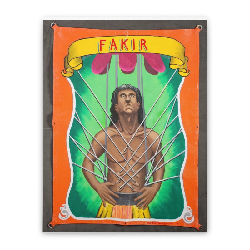 Fakir Home Stretched Canvas by tonilee's Artist Shop