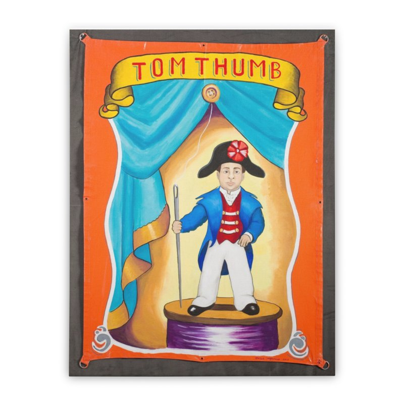 Tom Thumb Home Stretched Canvas by tonilee's Artist Shop