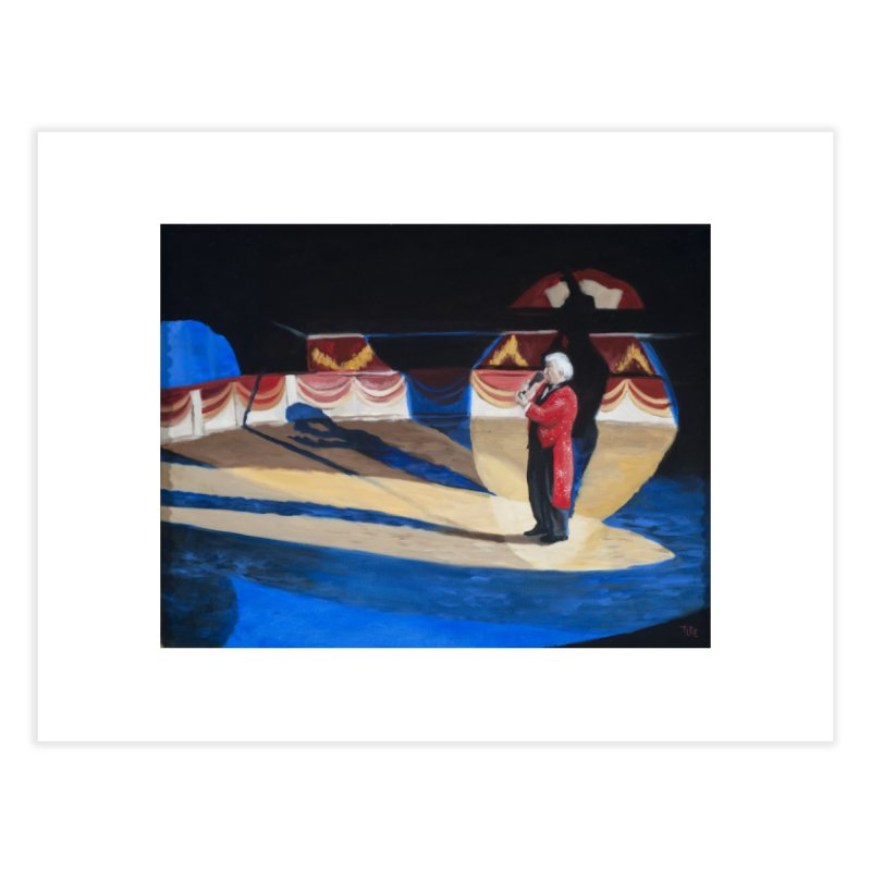 Ring Master Italian Circus Home Fine Art Print by tonilee's Artist Shop