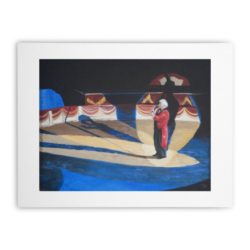 Ring Master Italian Circus Home Stretched Canvas by tonilee's Artist Shop