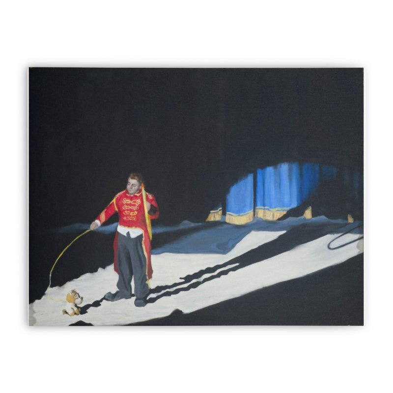 Lion Tamer Home Stretched Canvas by tonilee's Artist Shop