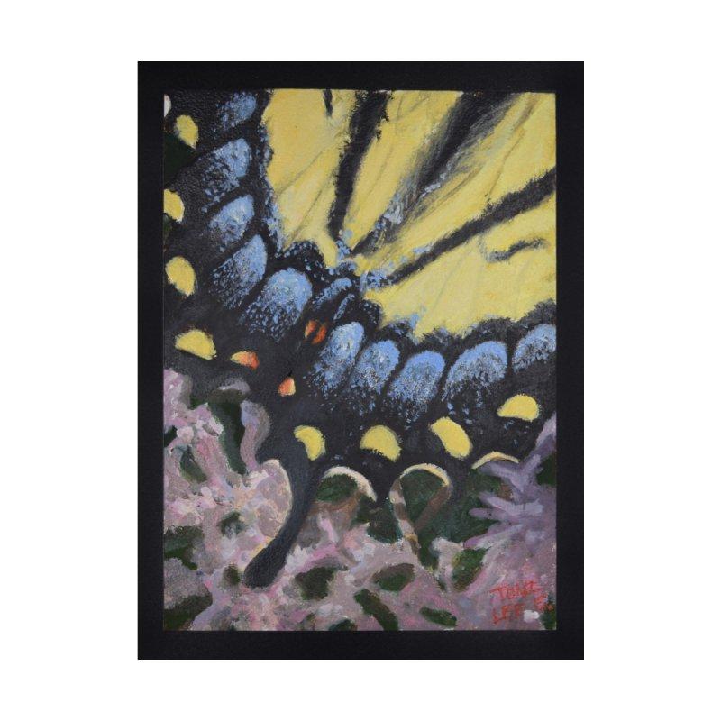 Yellow Tiger Swallowtail Butterfly by tonilee's Artist Shop