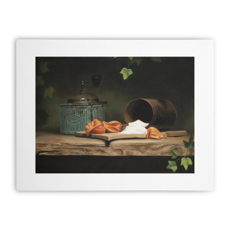 Brevetti Home Stretched Canvas by tonilee's Artist Shop