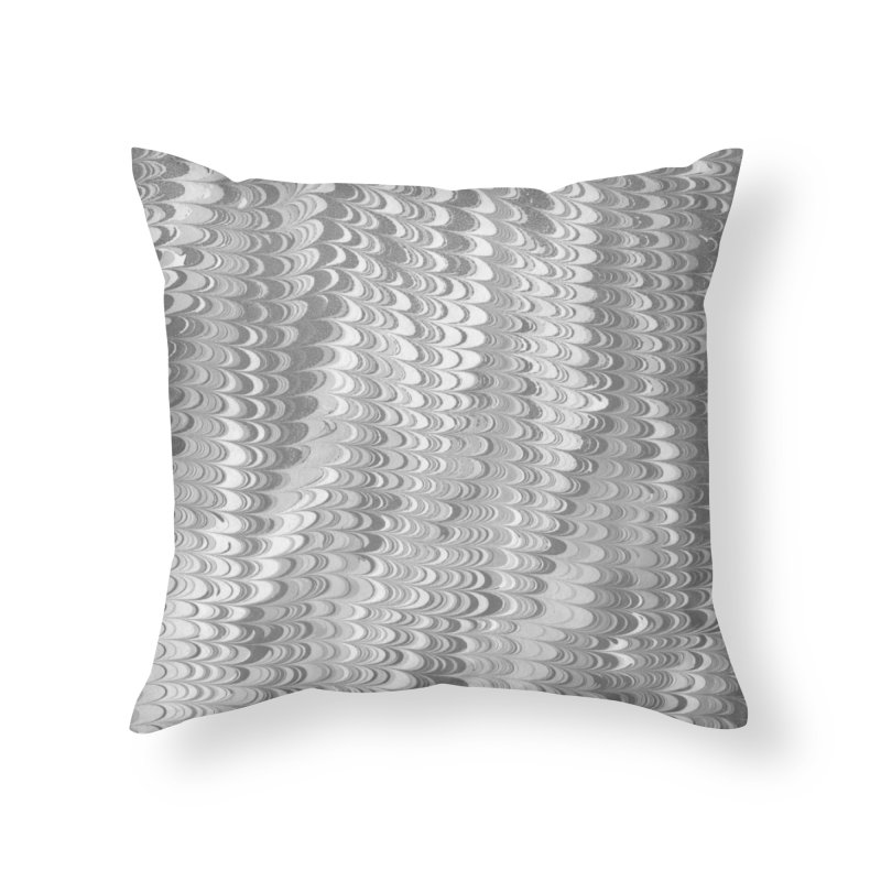 Marble non-pareil gray Home Throw Pillow by tonilee's Artist Shop