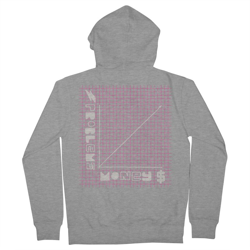 Biggie Was Right - Texture Version Women's French Terry Zip-Up Hoody by tonteau's Artist Shop