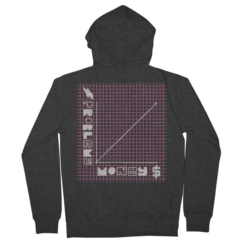 Biggie Was Right - Texture Version Men's Zip-Up Hoody by tonteau's Artist Shop
