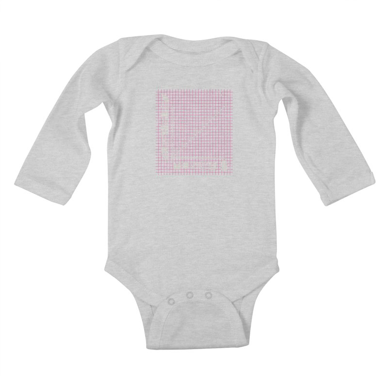 Biggie Was Right - Texture Version Kids Baby Longsleeve Bodysuit by tonteau's Artist Shop