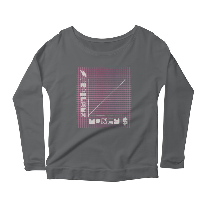 Biggie Was Right - Texture Version Women's Longsleeve Scoopneck  by tonteau's Artist Shop