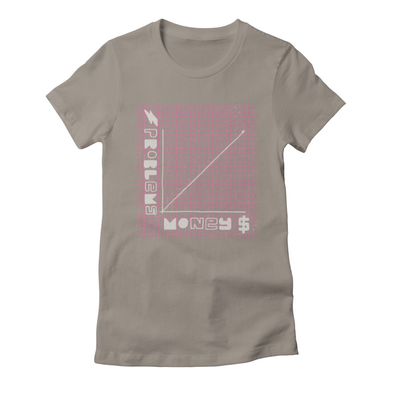 Biggie Was Right - Texture Version Women's Fitted T-Shirt by tonteau's Artist Shop