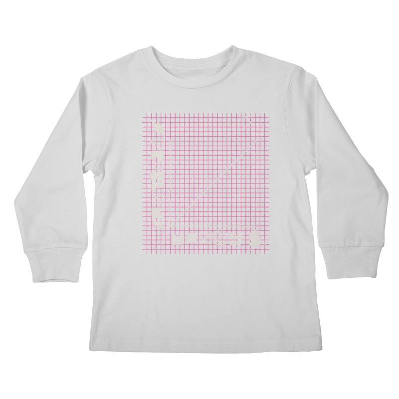 Biggie Was Right - Texture Version Kids Longsleeve T-Shirt by tonteau's Artist Shop