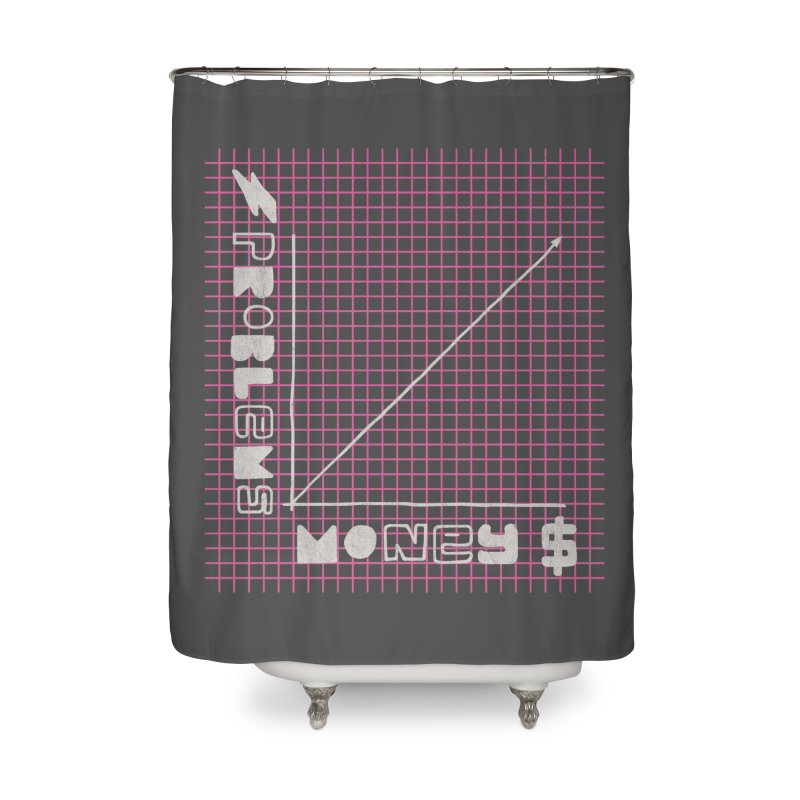 Biggie Was Right - Texture Version Home Shower Curtain by tonteau's Artist Shop