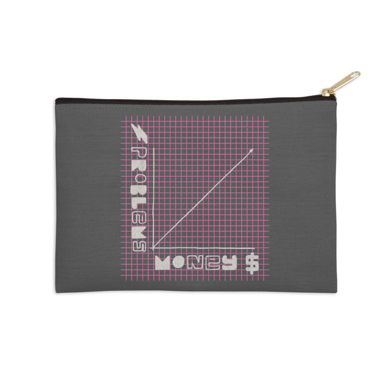 Biggie Was Right - Texture Version Accessories Zip Pouch by tonteau's Artist Shop
