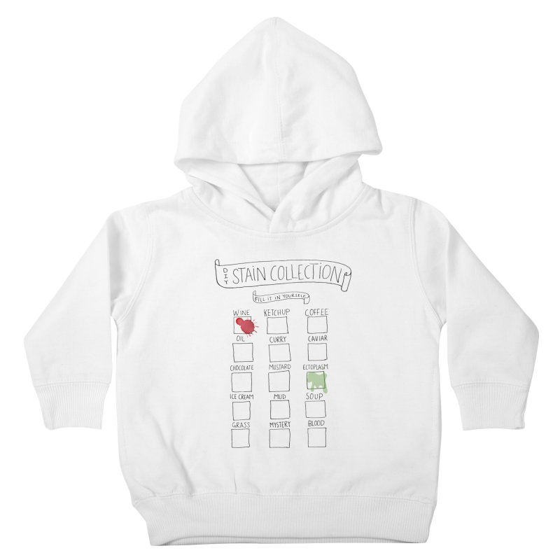 Stain Collection Kids Toddler Pullover Hoody by tonteau's Artist Shop