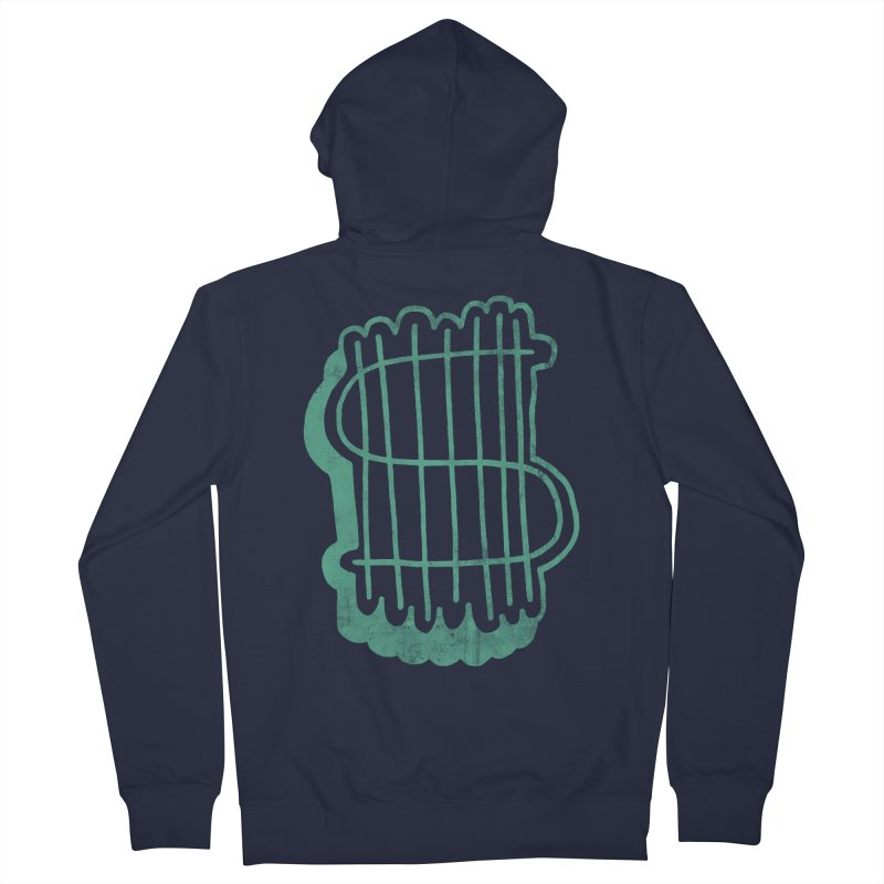 Megabux Men's Zip-Up Hoody by tonteau's Artist Shop
