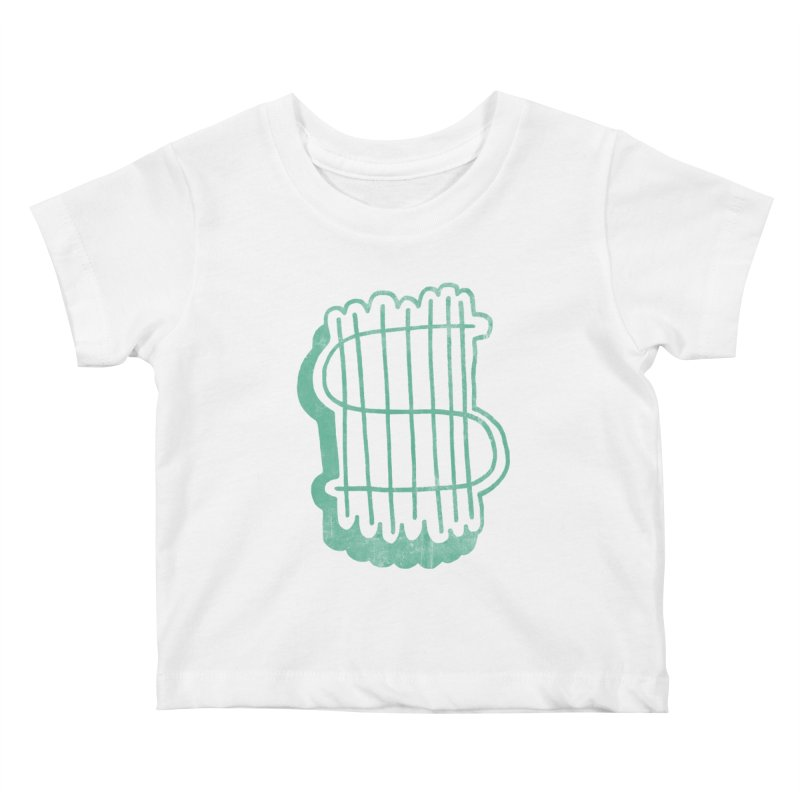 Megabux Kids Baby T-Shirt by tonteau's Artist Shop