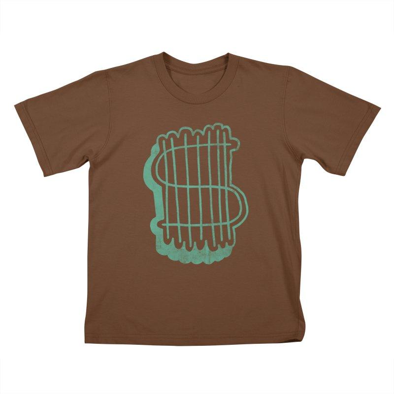 Megabux Kids T-Shirt by tonteau's Artist Shop
