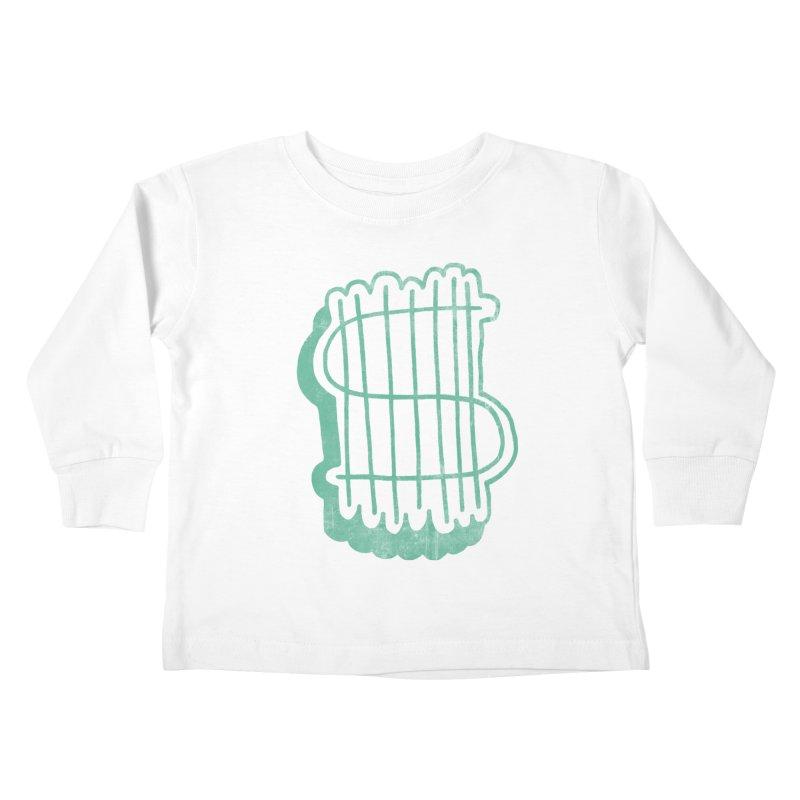 Megabux Kids Toddler Longsleeve T-Shirt by tonteau's Artist Shop