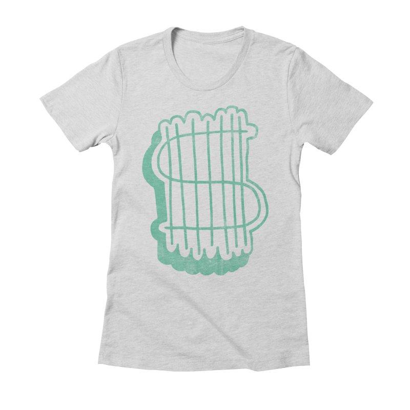 Megabux Women's Fitted T-Shirt by tonteau's Artist Shop