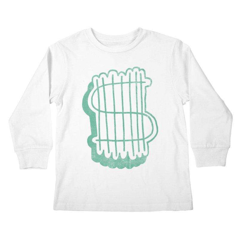 Megabux Kids Longsleeve T-Shirt by tonteau's Artist Shop