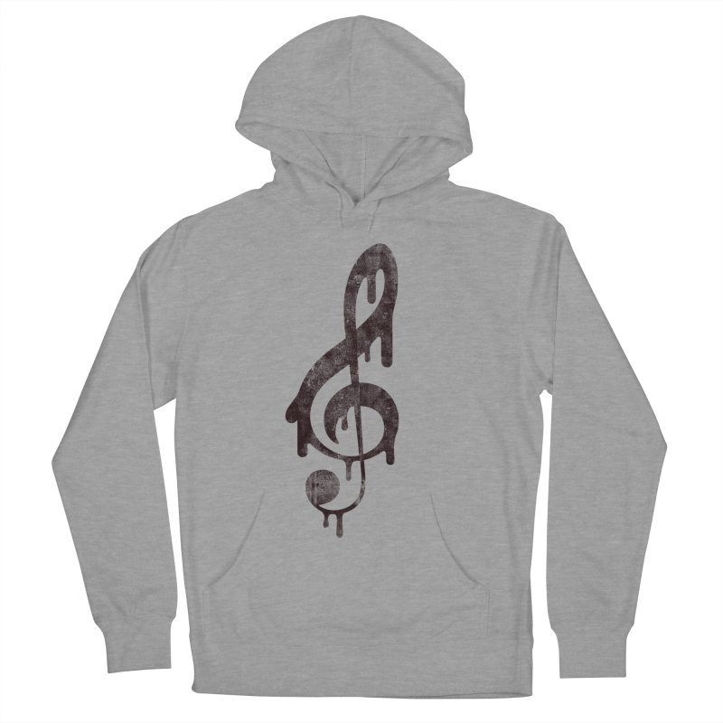 Melting Clef Women's Pullover Hoody by tonteau's Artist Shop