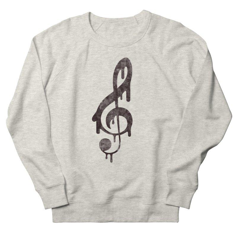 Melting Clef Women's Sweatshirt by tonteau's Artist Shop