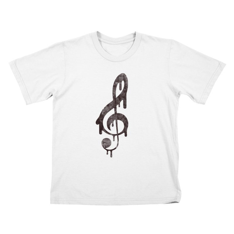 Melting Clef   by tonteau's Artist Shop