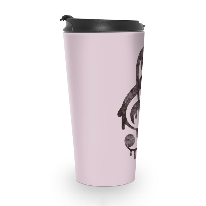 Melting Clef Accessories Travel Mug by tonteau's Artist Shop