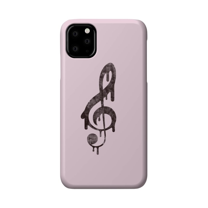 Melting Clef Accessories Phone Case by tonteau's Artist Shop