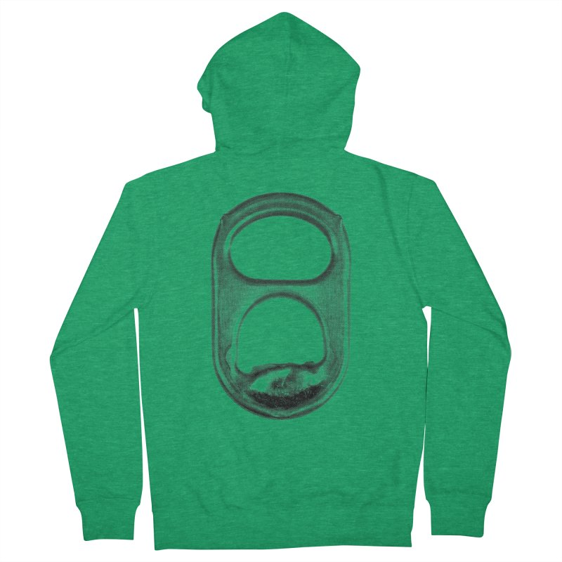 Ring Pull Women's French Terry Zip-Up Hoody by tonteau's Artist Shop