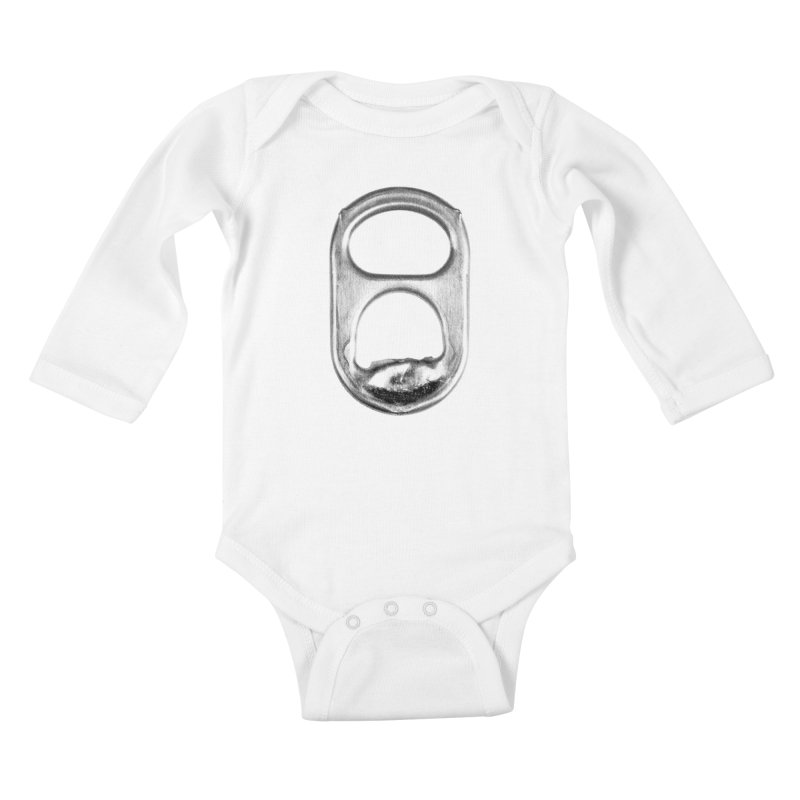 Ring Pull Kids Baby Longsleeve Bodysuit by tonteau's Artist Shop
