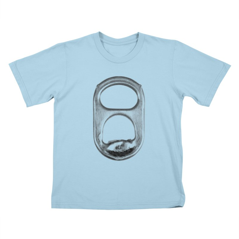 Ring Pull Kids T-Shirt by tonteau's Artist Shop
