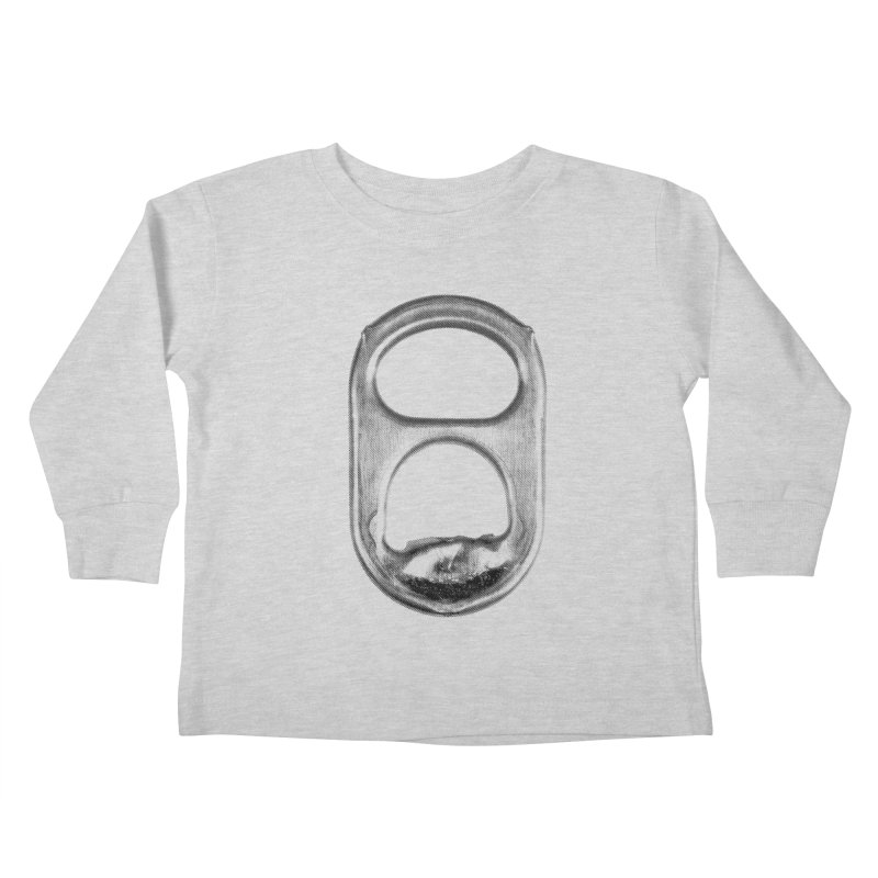 Ring Pull Kids Toddler Longsleeve T-Shirt by tonteau's Artist Shop