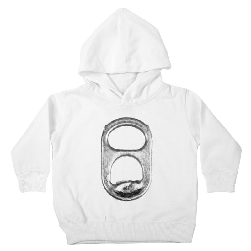 Ring Pull Kids Toddler Pullover Hoody by tonteau's Artist Shop
