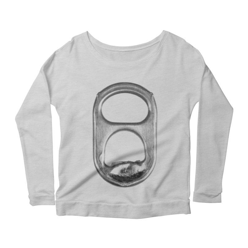 Ring Pull Women's Scoop Neck Longsleeve T-Shirt by tonteau's Artist Shop