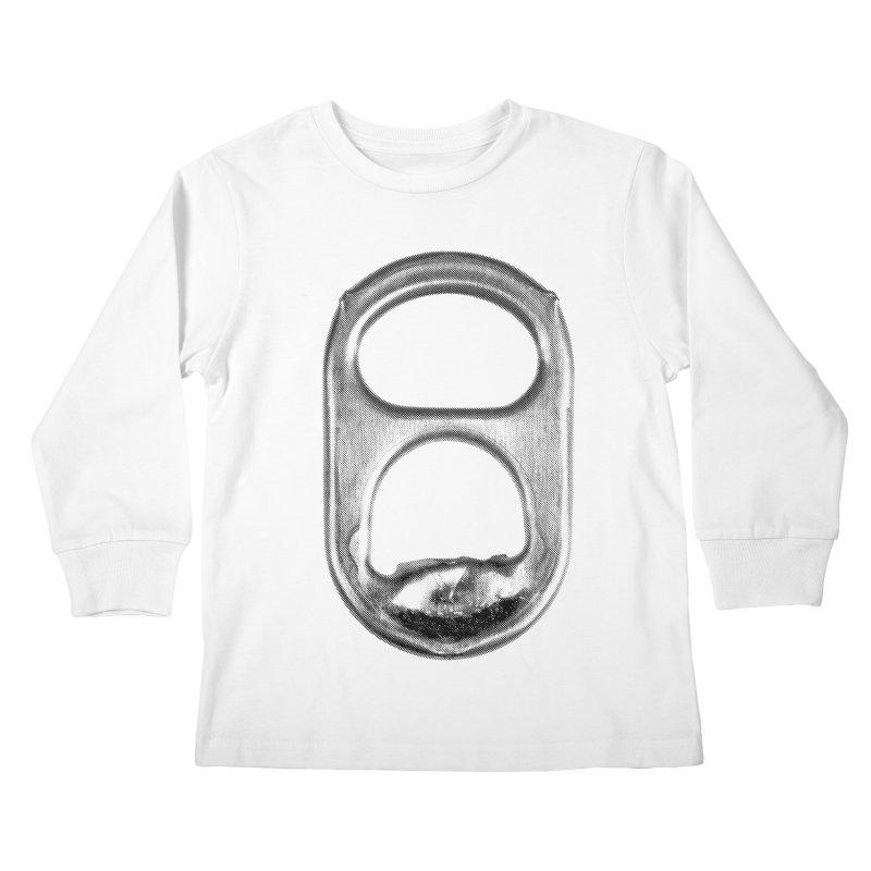 Ring Pull Kids Longsleeve T-Shirt by tonteau's Artist Shop