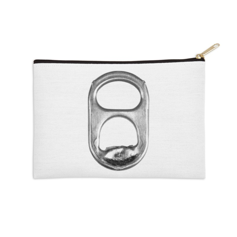 Ring Pull Accessories Zip Pouch by tonteau's Artist Shop